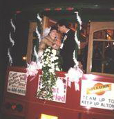 Trolley Wedding Back Vestibule